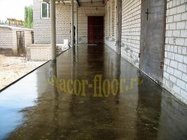 Вариант применения полиуретановой пропитки для бетона